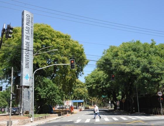 Fachada da Universidade de São Paulo (USP) (Foto: USP)