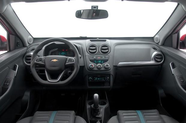 Chevrolet Montana 2018 (Foto: Divulgação)