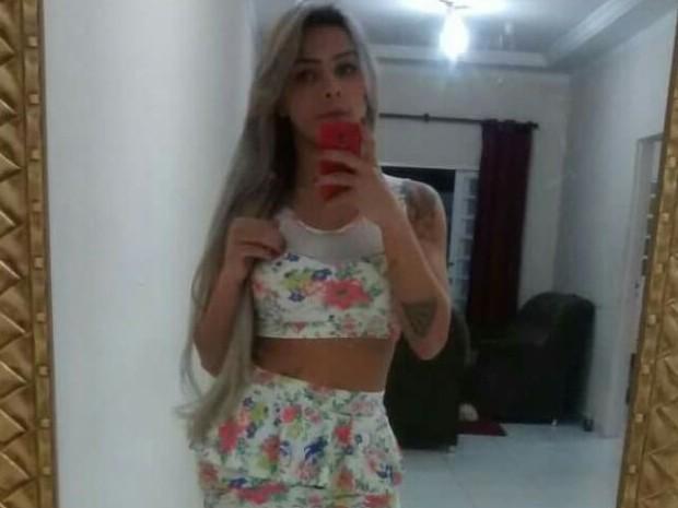 Nayara, de 23 anos, foi morta em frente a um motel de Goiânia (Foto: Arquivo Pessoal)