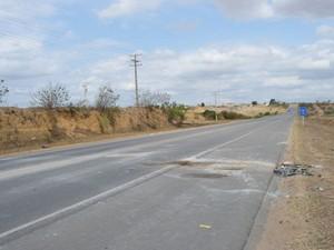 estrada (Foto:  Anderson Oliveira / Blog do Anderson)