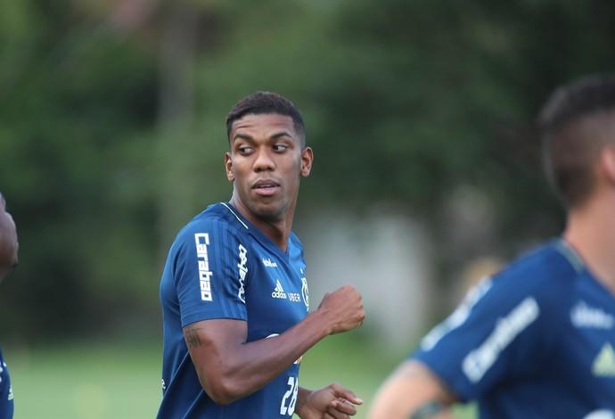 Berrío volta a ser opção para Zé Ricardo neste sábado (Foto: Gilvan de Souza/ Flamengo)