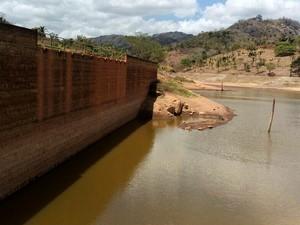Barragem Santana II, em Brejo da Madre de Deus (Foto: Divulgação/Compesa)