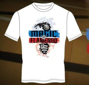 Camisa Magic x Flamengo (Foto: Reprodução)