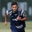 Cleiton Xavier Palmeiras (Foto: Cesar Greco/Ag Palmeiras/Divulgação)