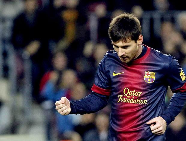 LIonel MEssi barcelona gol osasuna (Foto: Agência EFE)