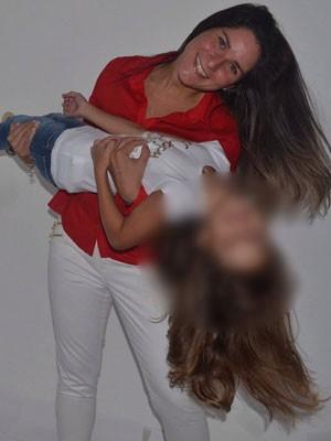 Renata está desaparecida desde janeiro; família procura por ela na região (Foto: Arquivo Pessoal)