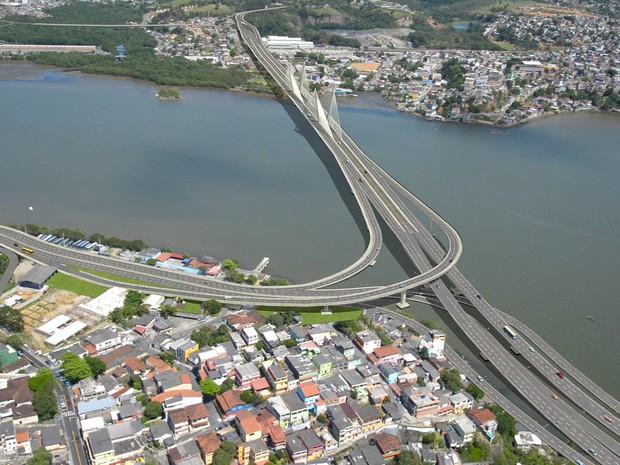 Quarta Ponte vai ligar Vitória a Cariacica (Foto: Divulgação / Governo do Espírito Santo)