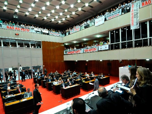 Deputados aprovam reforma administrativa em Minas  (Foto: Sarah Torres/ Divulgação ALMG)