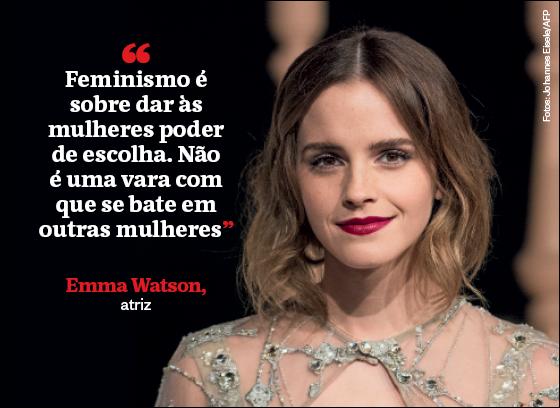 Frases que resumem a semana | Emma Watson (Foto: Johannes Eisele/AFP)