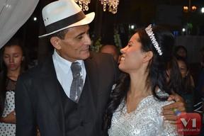 Casamento da cantora Stefhany (Foto:  Divulgação / Sergio Alves / Portal V1)