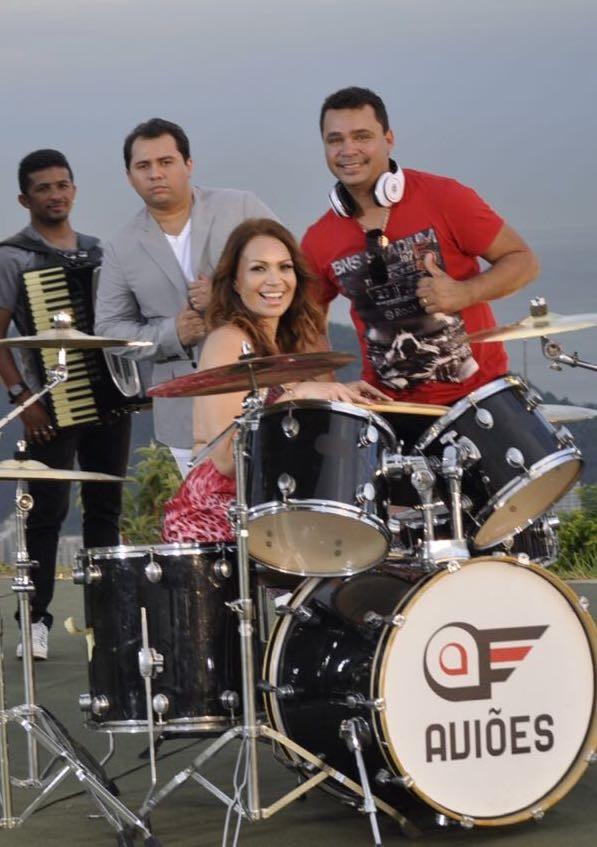 Solange Almeida, Xand e Riquelme (Foto: Arquivo Pessoal)