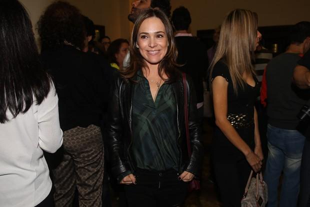 Gabriela Duarte na sessão para convidados da peça Meu Deus (Foto  Manuela  Scarpa   11d142fb20