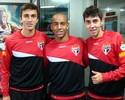 Trio sub-20 reforça o São Paulo após conquista com a Seleção na África