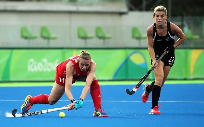Kate Richardson-Walsh hóquei Rio 2016 (Foto: Reuters)