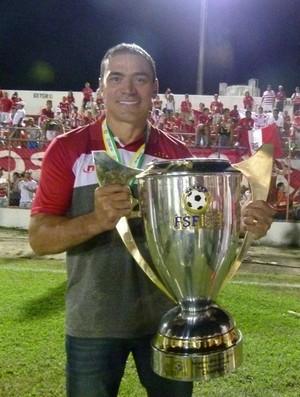 Clemer, técnico do Sergipe (Foto: Guilherme Araújo/TXT)