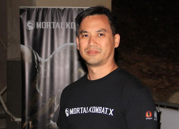 O produtor sênior Hans Lo, da Netherrealm Studios, estava no Warner Bros. Games Summit (Foto: Renato Bazan/TechTudo)