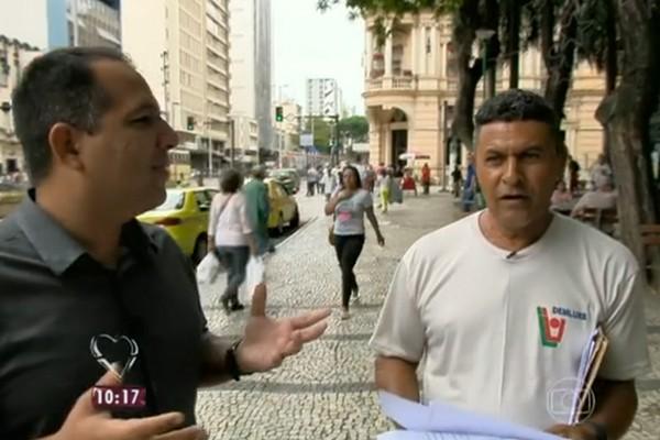 Seu José se preocupa com o sofrimento das pessoas (Foto: Divulgação )