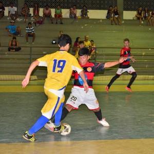 Taça Roraima de Futsal Sub-17, Constelação e Tiradentes (Foto: Nailson Wapichana)