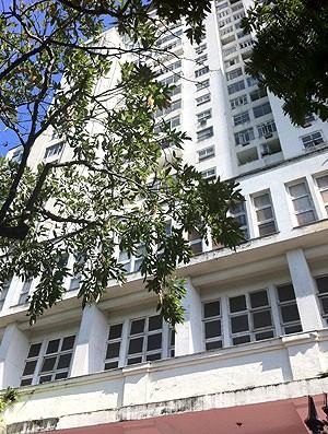 predio Morro da Viuva, sede do Flamengo (Foto: Vicente Seda / Globoesporte.com)