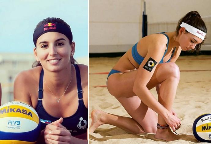 Marta Menegatti, da Itália, musas do Mundial de vôlei de praia (Foto: Reprodução)