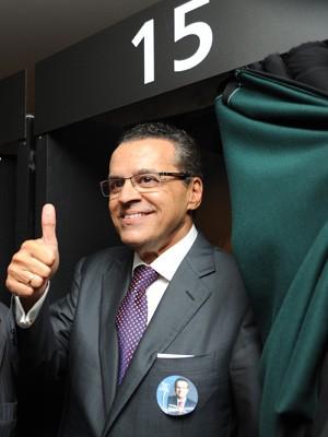 O novo presidente da Câmara, Henrique Eduardo Alves (PMDB-RN) (Foto: Agência Câmara)