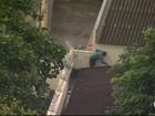 Imagens mostram fuga arriscada na Zona Norte do Rio