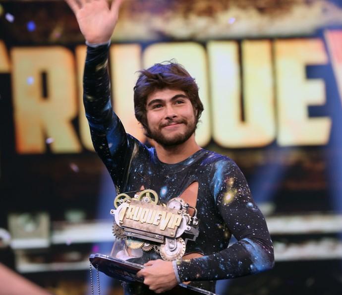 Rafa Vitti agradece o carinho do público (Foto: Carol Caminha/Gshow)