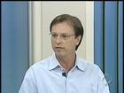 Alexandre Kireeff é entrevistado pelo PRTV 1ª edição, em Londrina