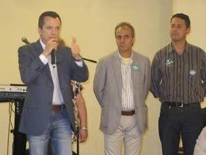 Russomanno participou de evento no Círculo dos Trabalhadores Cristãos de Vila Prudente (Foto: Márcio Pinho/G1)