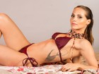 Mais magra e sensual, Letícia Colin esbanja boa forma em fotos exclusivas de biquíni