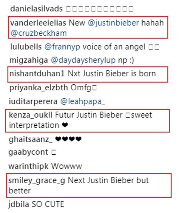 Cruz Beckham recebe elogios ao soltar a voz na web (Foto: Reprodução/Instagram)