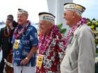 Sobreviventes voltam a Pearl Harbor 74 anos depois de ataque