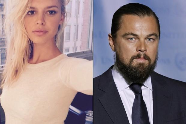 Kelly Rohrbach e Leonardo DiCaprio (Foto: Reprodução / Instagram - AFP/ Agência)