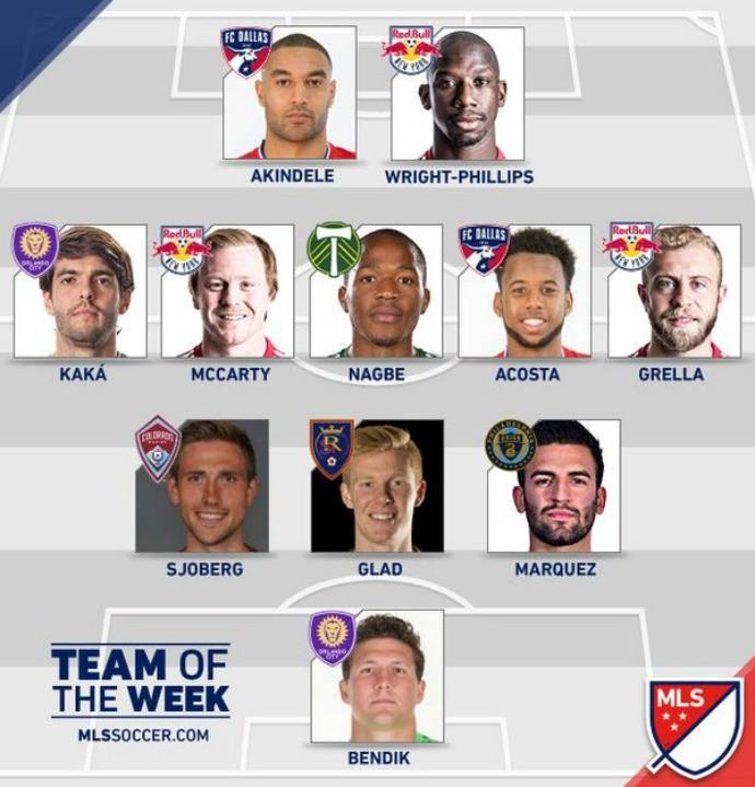 BLOG: Decisivo na vitória do Orlando City, Kaká entra na seleção da semana da MLS