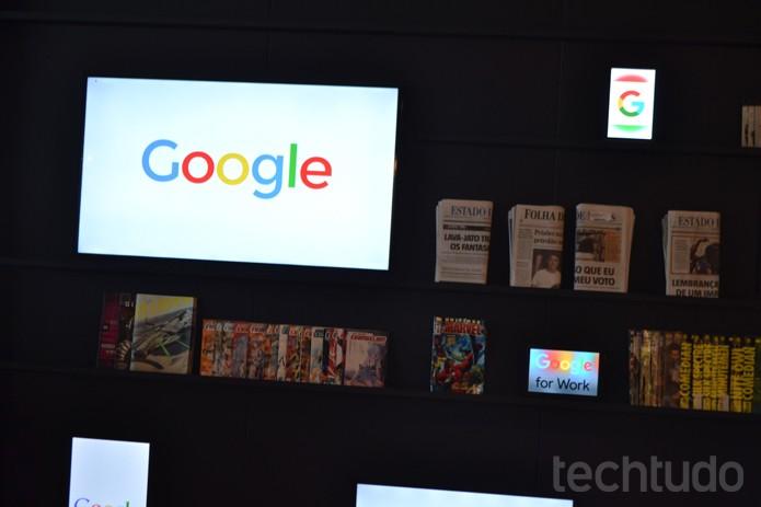 Com lógica cromática e sensorial, Google em BH usa cores quentes em espaços coletivos (Foto: Melissa Cruz / TechTudo)