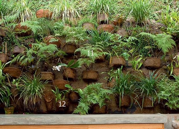 jardim vertical bambu:Jardinagem e paisagismo dão vida a esta casa – Casa e Jardim