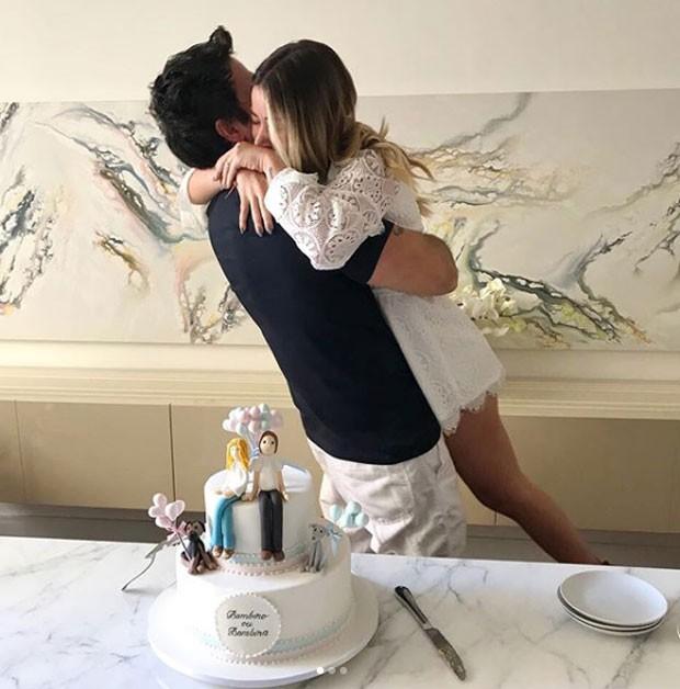 Mica Rocha e o marido, Renato Mimica (Foto: Reprodução Instagram)