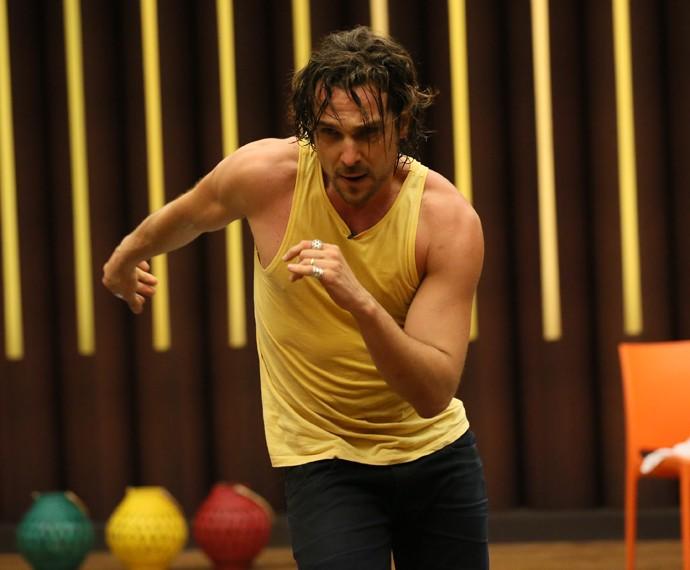 Igor Rickli corre para brilhar no 'Dança' (Foto: Isabella Pinheiro / Gshow)