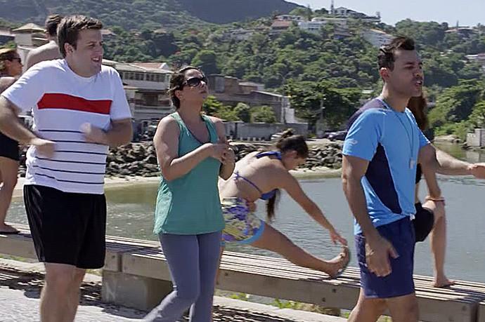 Treino Funcional no Zorra (Foto: TV Globo)