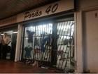 Grades de loja na área central de Brasília são destruídas durante roubo