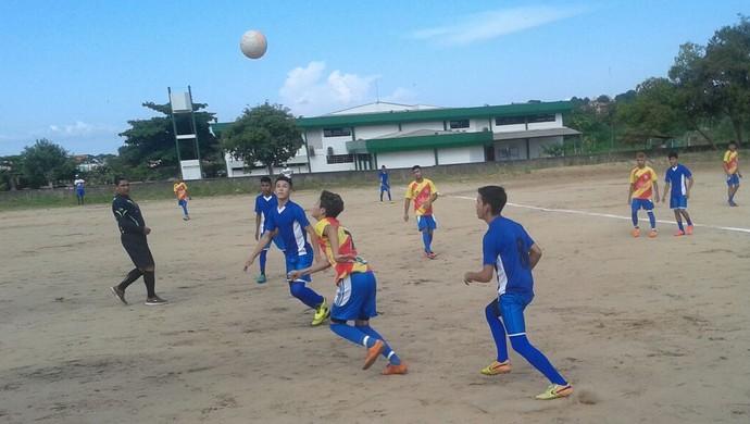 Seis equipes jogaram na primeira rodada do Campeonato Santareno Sub-16 (Foto: Manoel/Arquivo pessoal)