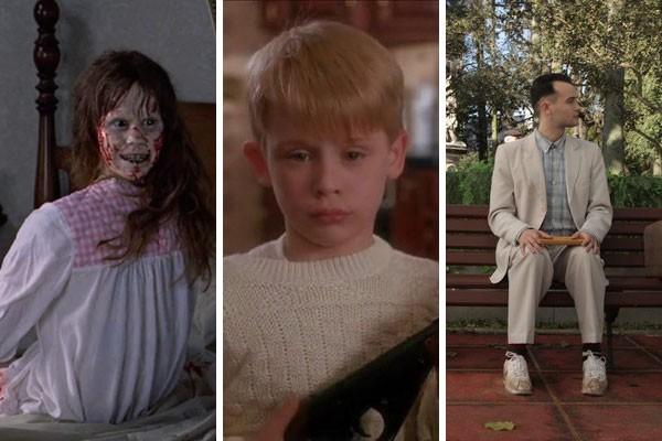 Por exemplo, os filmes O Exorcista (1973), Esqueceram de Mim (1990) e Forrest Gump foram rejeitados por produtores antes de se tornaram um sucesso (Foto: Reprodução)