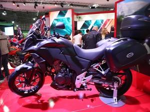 Honda CB 500x (Foto: Raul Zito/G1)