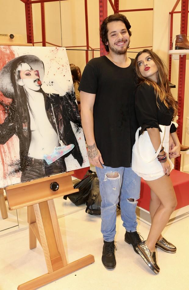 Giovanna Lancellotti e Gian Luca Baldacconi (Foto: Manuela Scarpa/Brazil News)