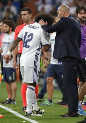 Marcelo Zidane Real Madrid (Foto: EFE)