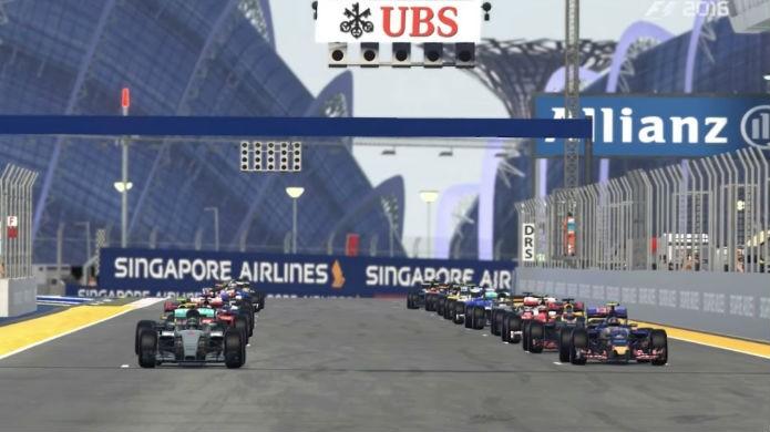 Jogar cada corrida e teste do modo carreira em F1 2016 traz recompensas (Foto: Reprodução / Thomas Schulze)