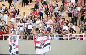 Após adiamento, São Paulo mantém jogo contra o Santa Cruz no Pacaembu