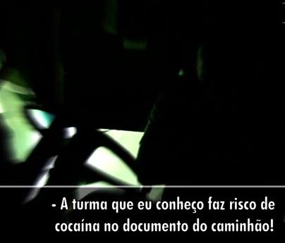 Cocaína está entre as drogas usadas na estrada (Foto: Reprodução/RBSTV)
