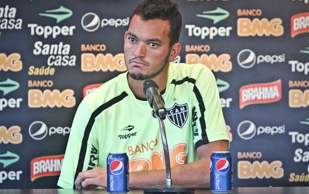 Réver não tem falado após os jogos do Atlético-MG (Foto: Bruno Cantini  / Site Oficial do Atlético-MG)