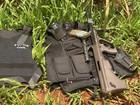 PM prende suspeito e encontra fuzil após ataque a caixas eletrônicos